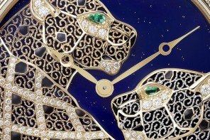 Ronde Louis Cartier Filigree Watch revives ancient art of filigree