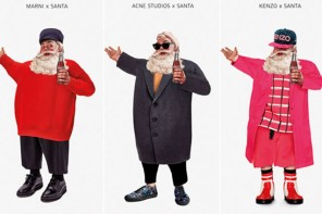 Check out the all-new, fashionable Santa dressed in Alexander Wang, Raf Simons, Marni and more