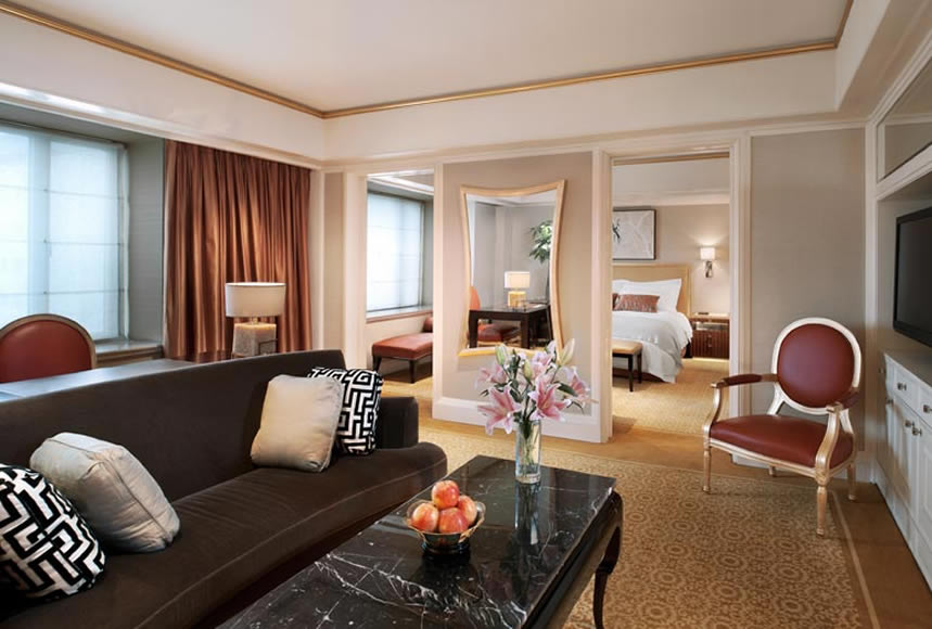 St.Regis Suite with VIP set up including Flowers and Fruits