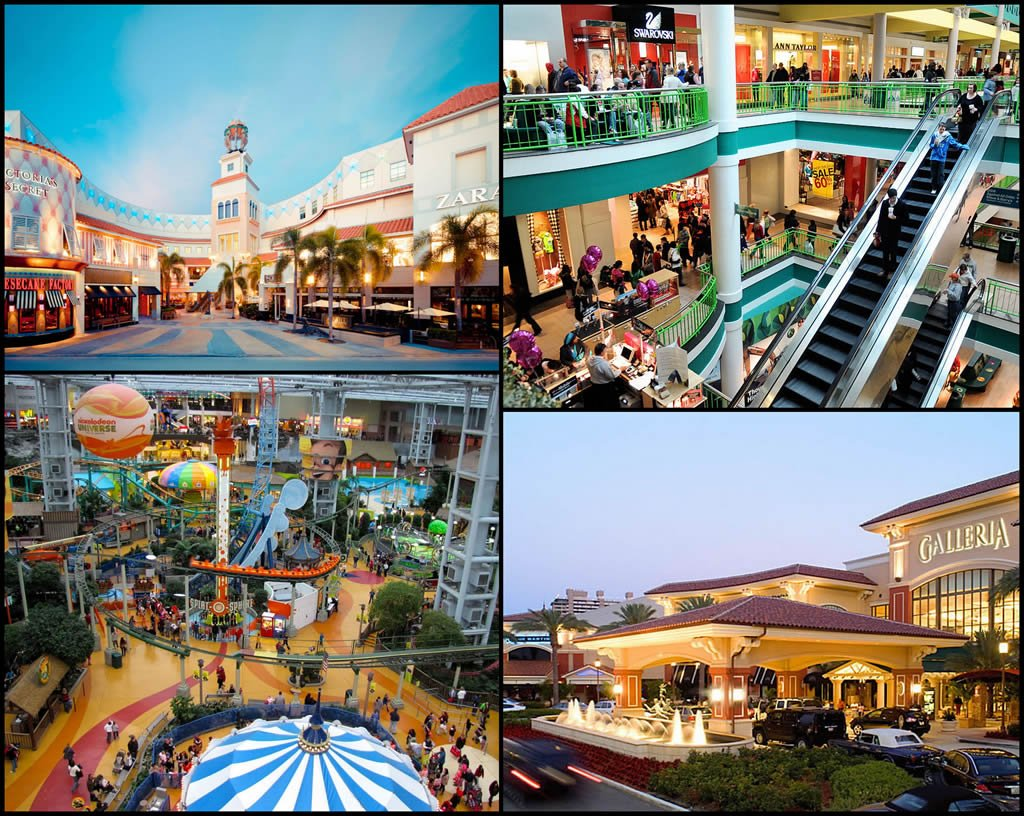 The Biggest Malls In The USA Luxurylaunches - Largest mall in usa