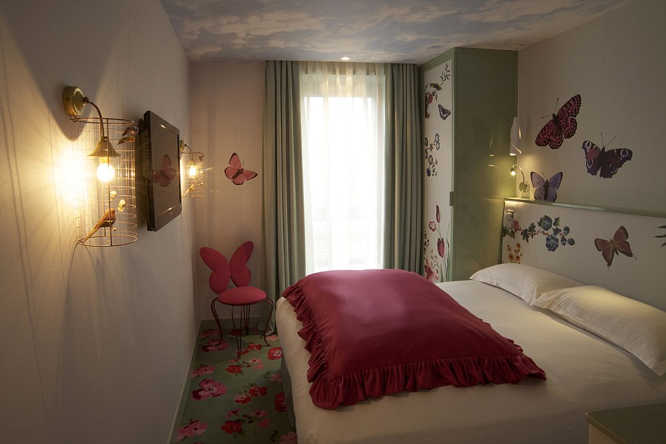In paris you can now stay in a seven deadly sins themed hotel thanks to ling - Hotel chantal thomas paris ...
