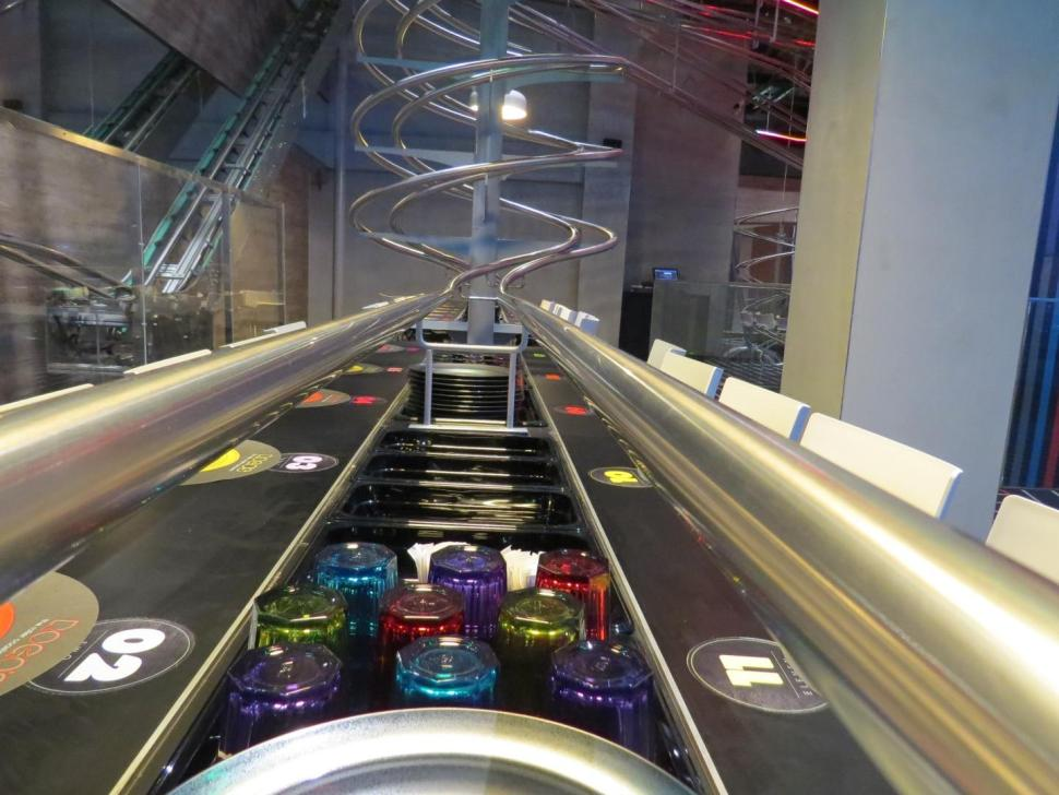 inside the world u2019s largest themed roller coaster diner in
