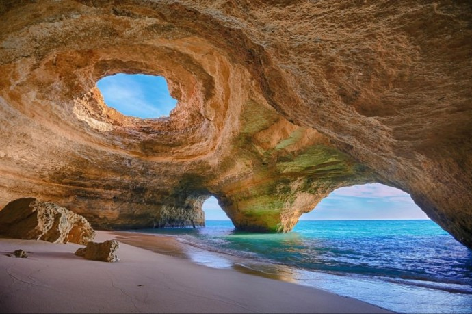 Benagil-Sea-Cave-in-Algarve