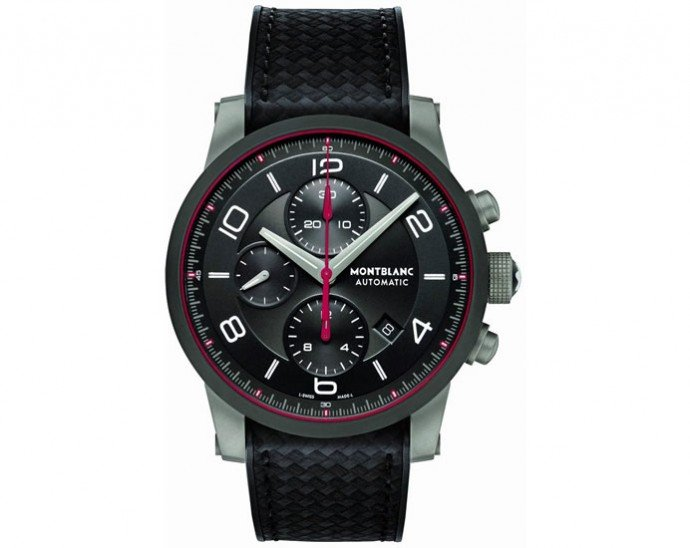 The Montblanc TimeWalker urban speed chronograph