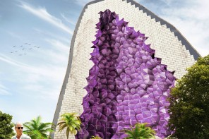 Shaped as a giant Amethyst this could be the most unique hotel in the world