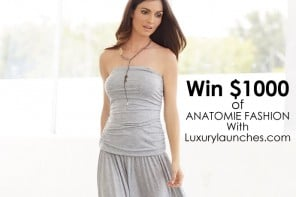 Spruce up your wardrobe – Win $1000 of luxury travel clothing from Anatomie
