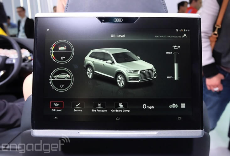2016 Audi Q7 Will Arrive With A Refined Mmi Virtual Cockpit And Android Tablet For Passengers