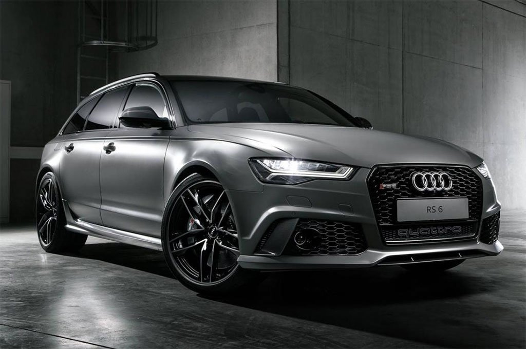Audi Exclusive Rs6 Avant With Matte Grey Finish Looks Badass To The Bone Luxurylaunches