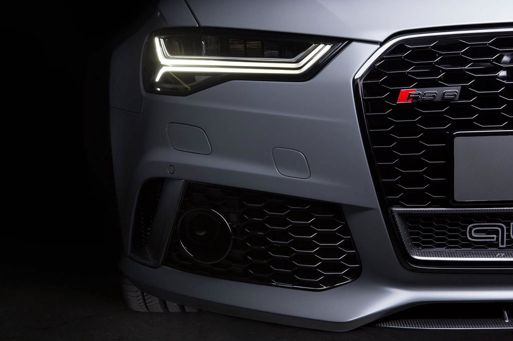 Audi Exclusive RS6 Avant with Matte Grey finish looks badass to the bone