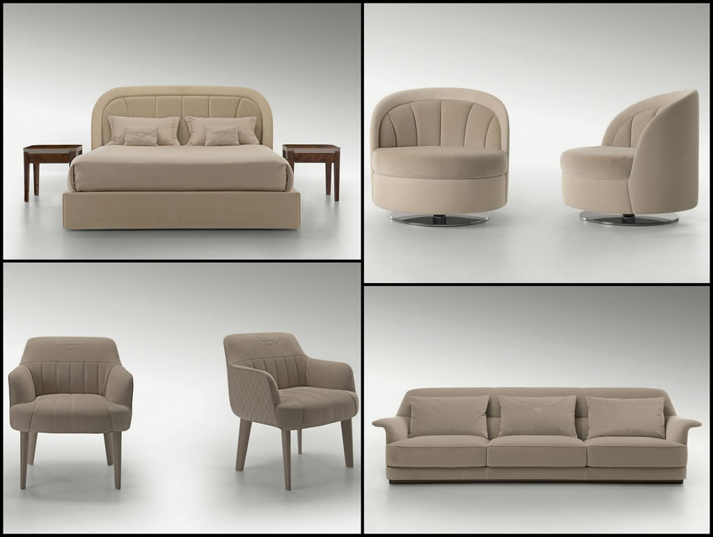 Bentley home furniture 39 s latest collection is inspired by for Home furniture