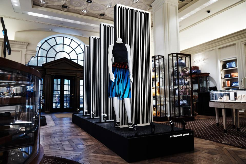 Alexander Wang Takes Over Bergdorf Goodman S Iconic Fifth