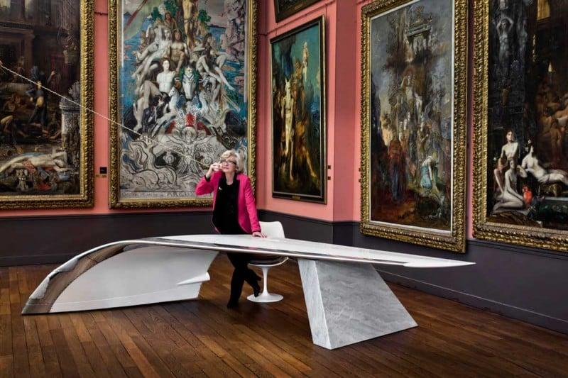 Design House Les Ateliers Flown Crafts A Cantilever Desk