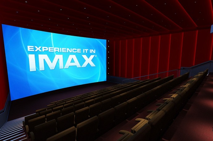 The world's first IMAX cinema at Sea