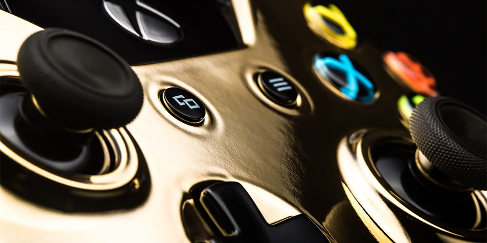 ColorWare's 24K Gold Plated DualShock 4 and Xbox One ...