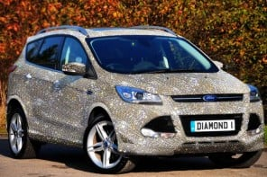 Meet the Ultimate Valentine's Day Gift – a $1.5 Million Diamond Studded Ford Kuga