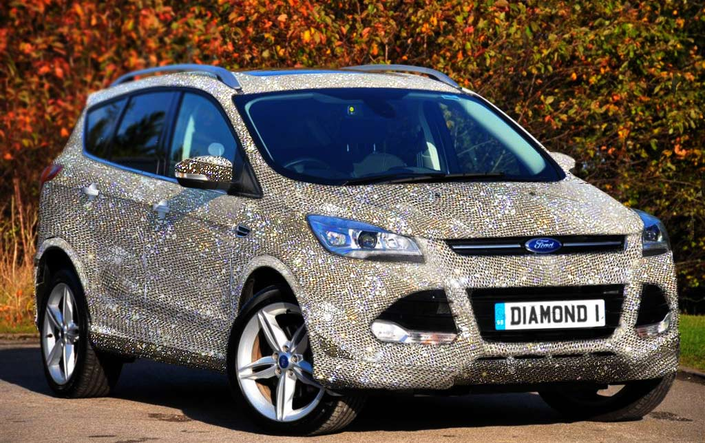 Meet the Ultimate Valentine's Day Gift – a $1.5 Million Diamond Studded Ford Kuga : Luxurylaunches