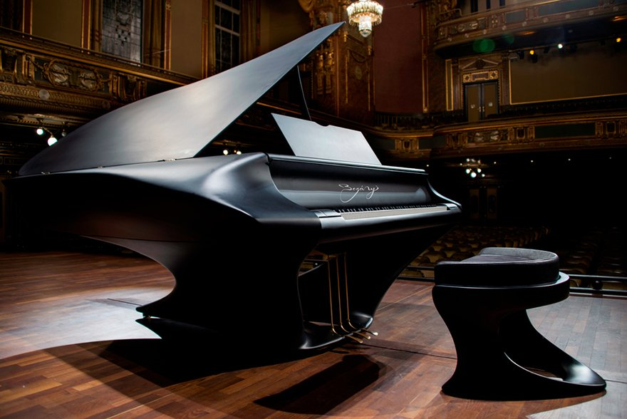 10 years in the making here is the sleek and sexy grand for Classic house piano