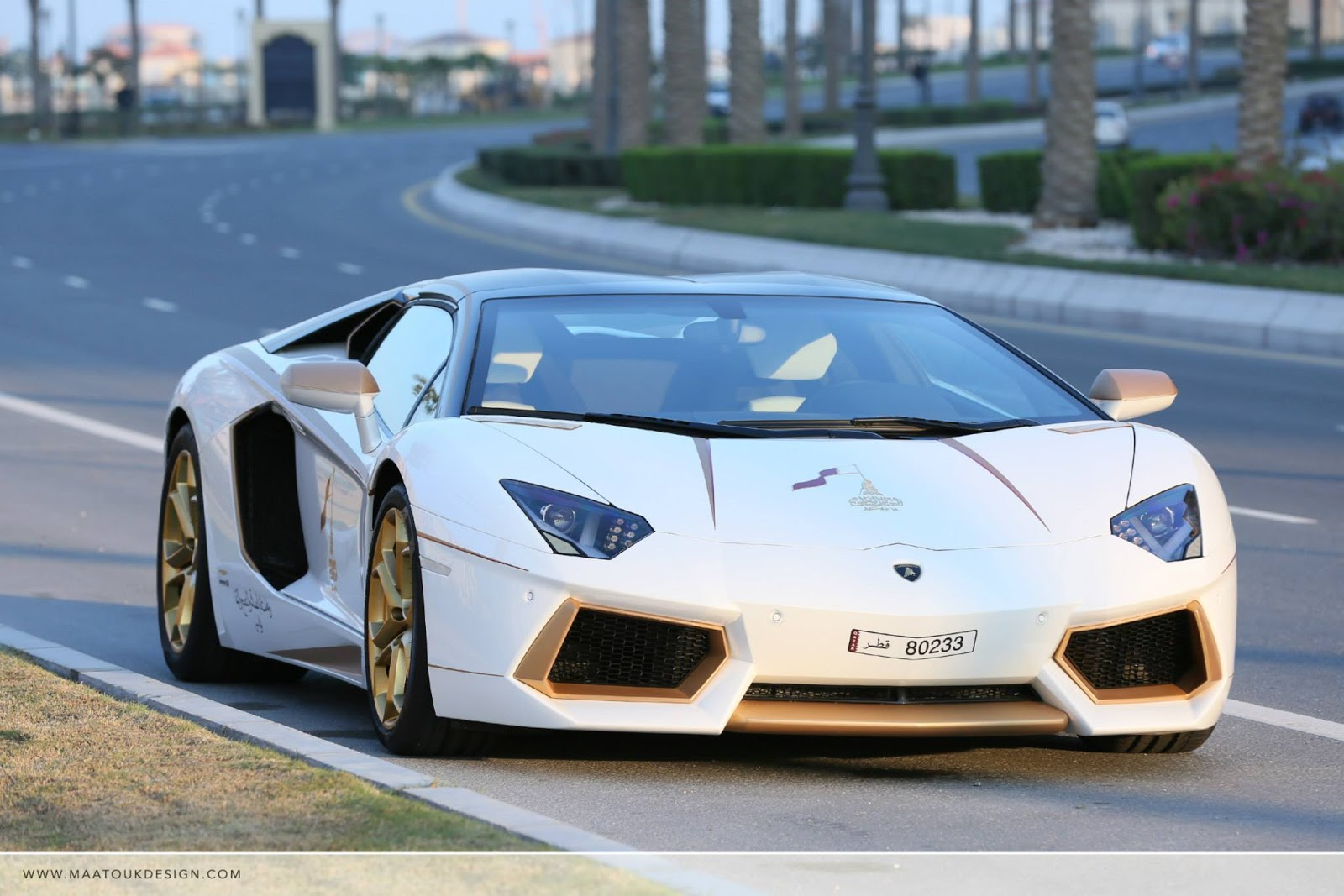 Meet The One Off Gold Plated Lamborghini Aventador