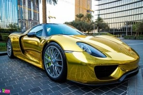 gold-wrapped-porsche-918-1