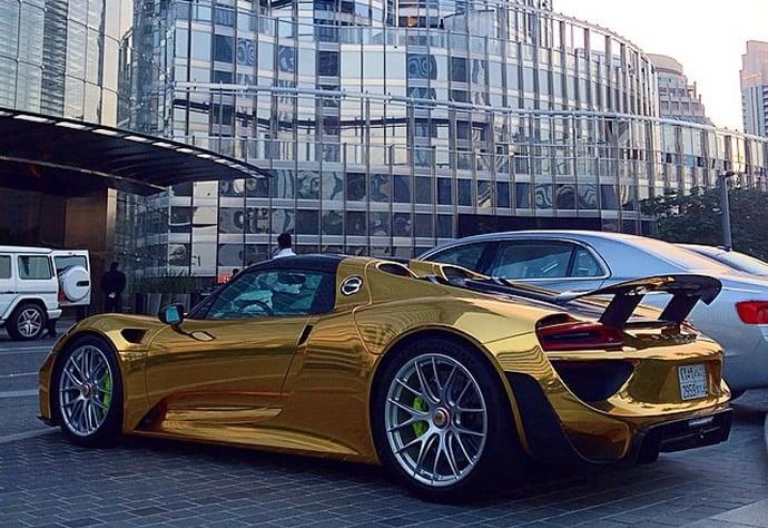 gold-wrapped-porsche-918-2