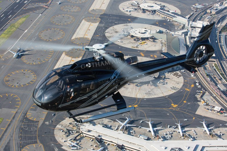 New Yorkers can take a helicopter from Manhattan to JFK for