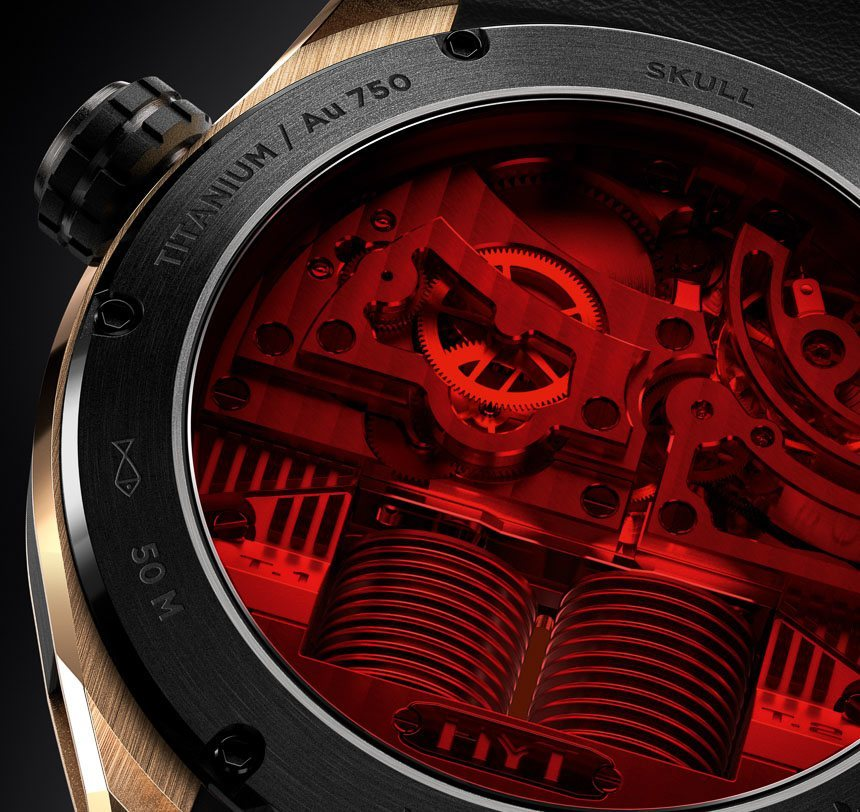 The Limited Edition Hyt Skull Watch Comes With A
