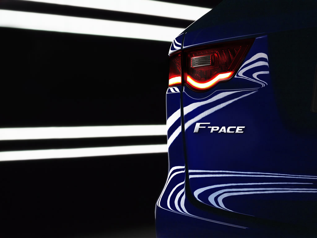 Jaguar's premium SUV-crossover named F-Pace, to go on sale in 2016 -