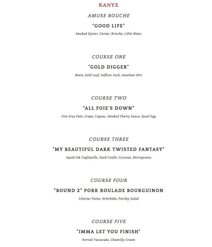 kanye-valentine-menu