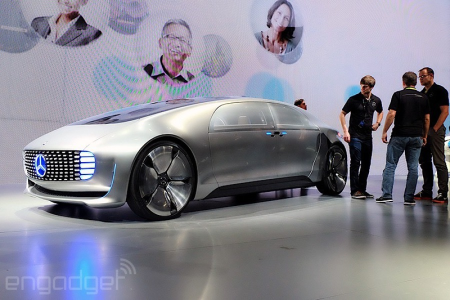 Ces 2015 Mercedes Benz F 015 Luxury In Motion Gives A