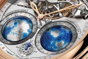 SIHH 2015: Montblanc Villeret Tourbillon Cylindrique Geosphères Vasco da Gama
