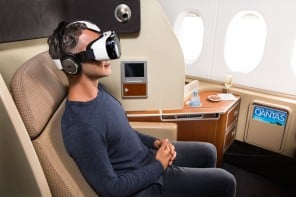Qantas and Samsung Take In-Flight Entertainment to New Heights With The Gear VR