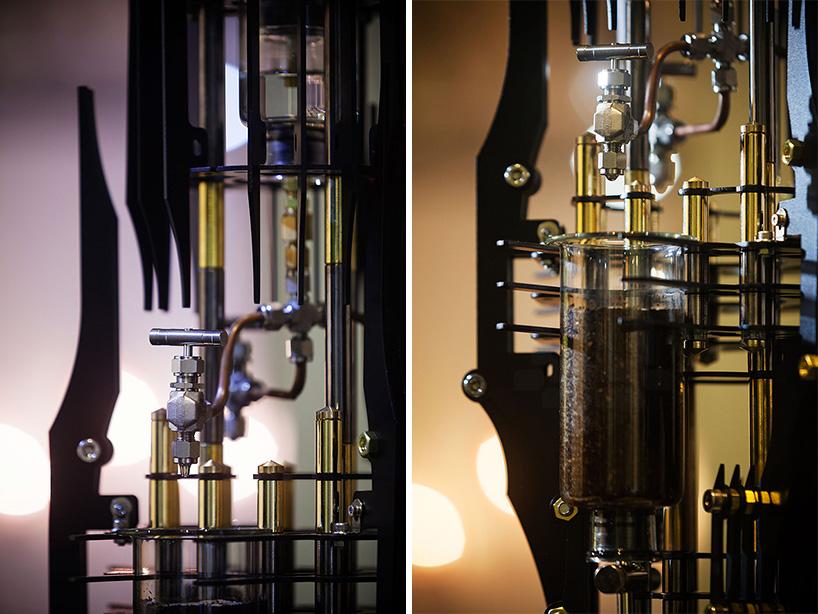 Dutch Lab Designs Steampunk Coffee Machine That Looks Like A Doomsday Device