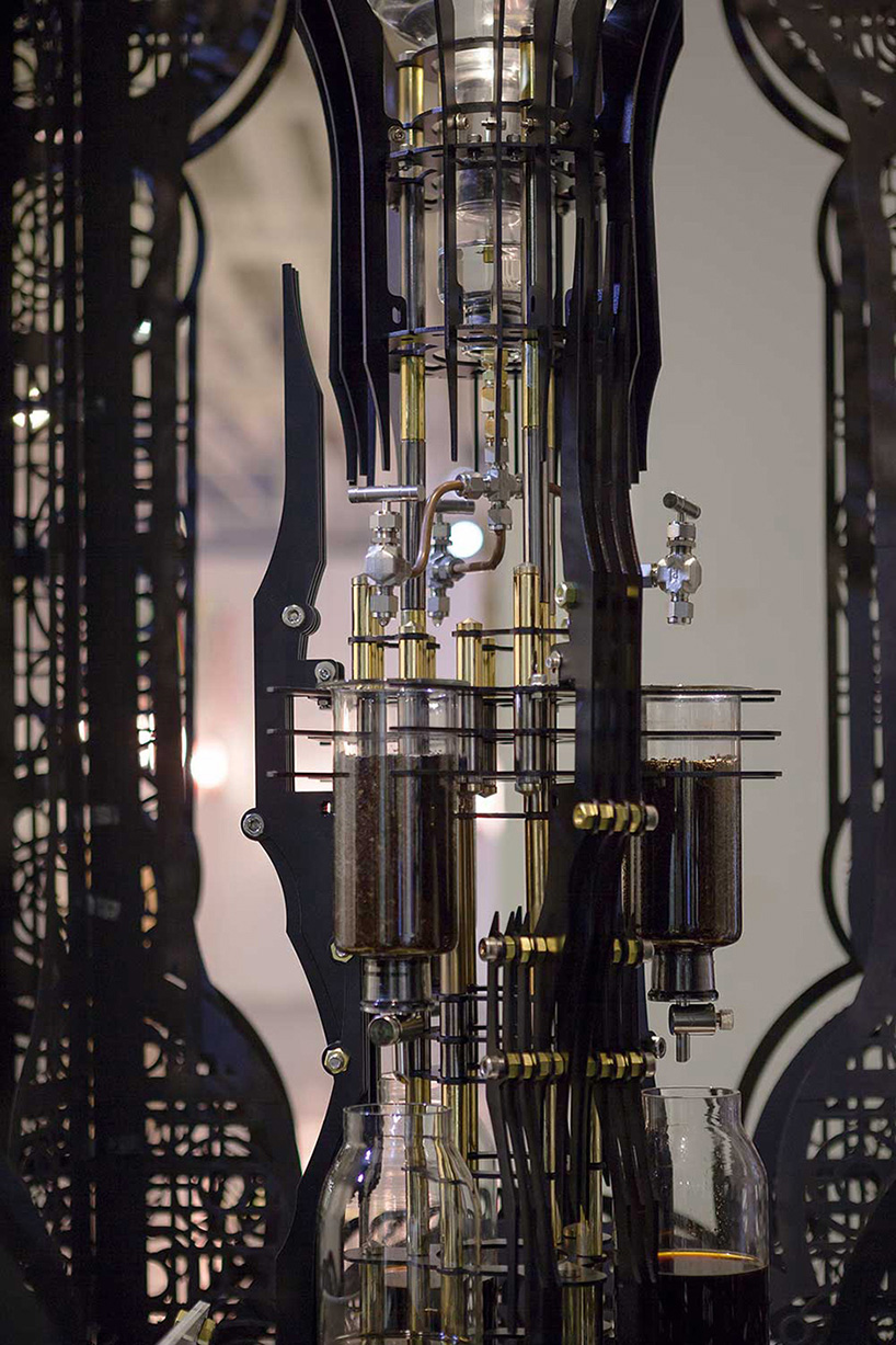 Dutch Lab Designs Steampunk Coffee Machine That Looks Like