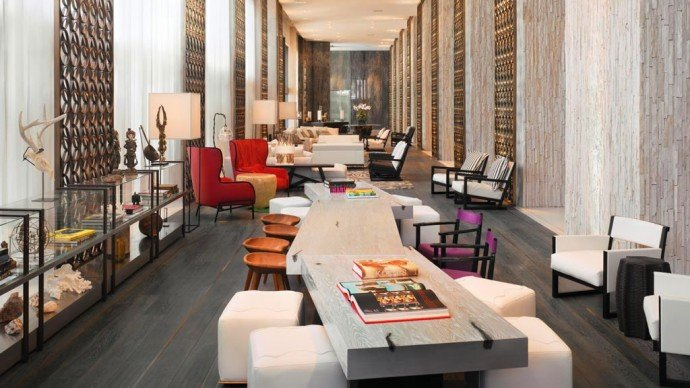 Suite Of The Week The Stylish E Wow Suite At The W South