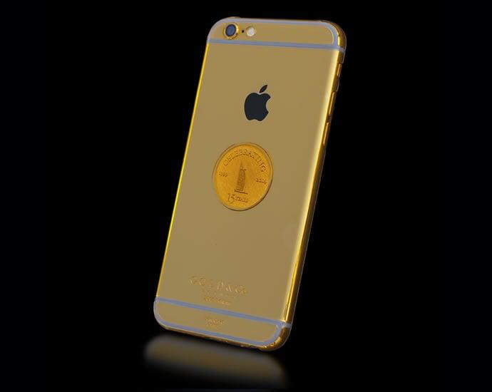 Burj Al Arab orders 15 Real Gold iPhone 6s for 15 Year Anniversary -