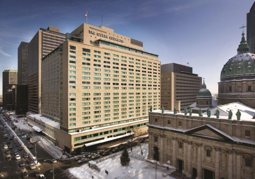 Fairmont The Queen Elizabeth, Rene Levesque Blvd.