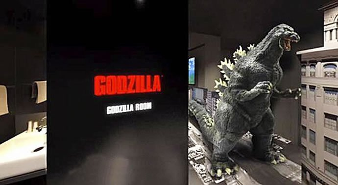 World S First Godzilla Themed Hotel Opens In The Famous