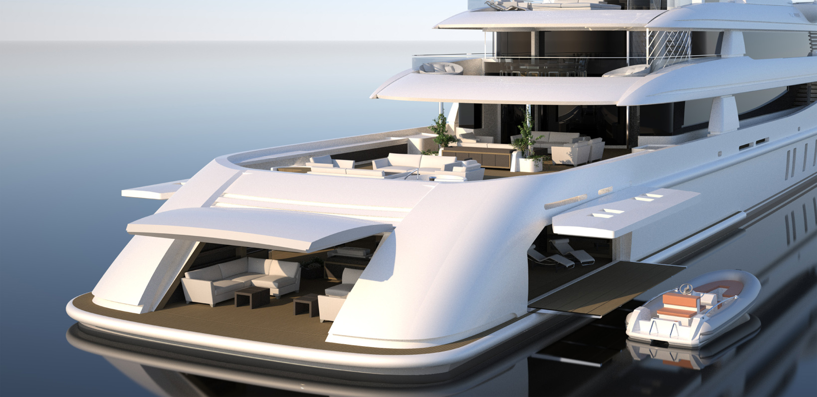 Futuristic Yacht