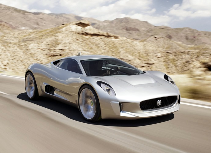 bond flick 39 spectre 39 will have bad guys chase 007 in jaguar 39 s cancelled c x75 hybrid hypercar. Black Bedroom Furniture Sets. Home Design Ideas