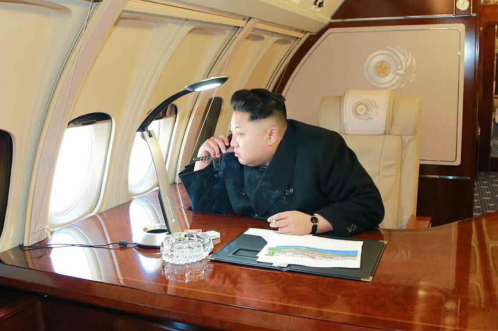 Take a look inside north korean dictator kim jong un 39 s Air force one interior