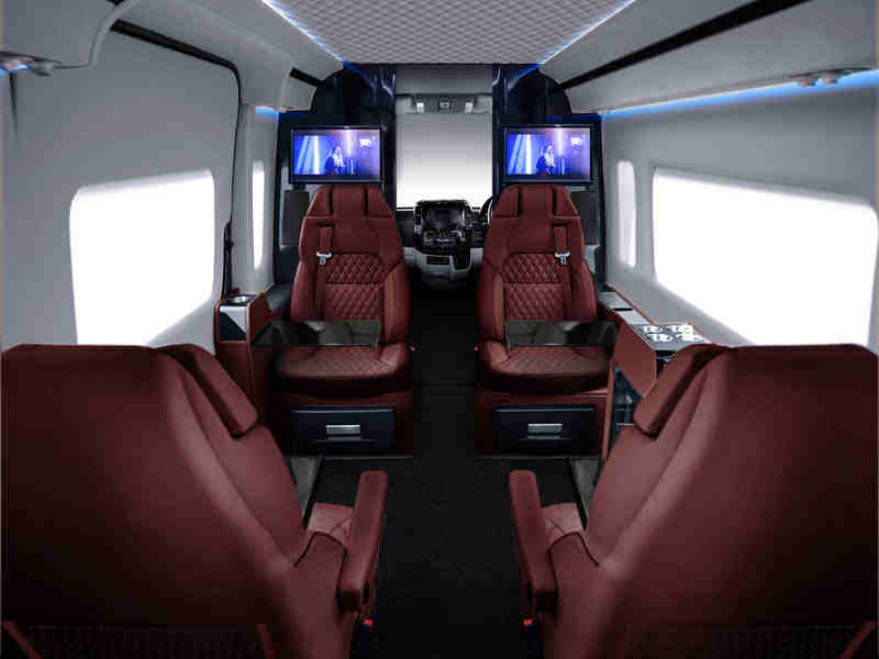 This 300K Customized Mercedes Vans Interiors Will Put A Luxury Private Jet To Shame