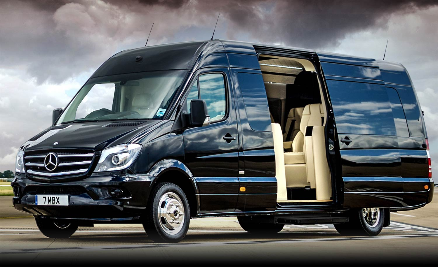 This 300k Customized Mercedes Van S Interiors Will Put A