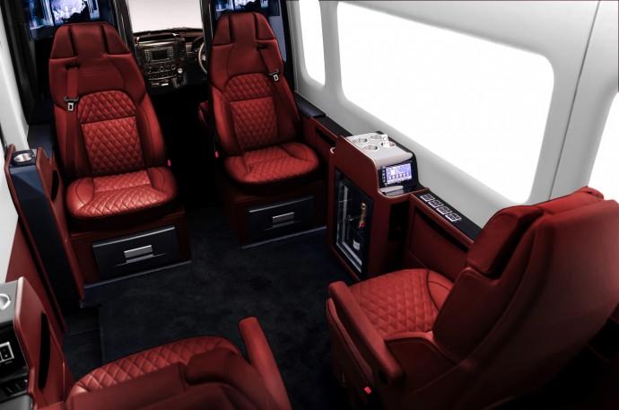 Luxury Senzati Jet Sprinter Van 6