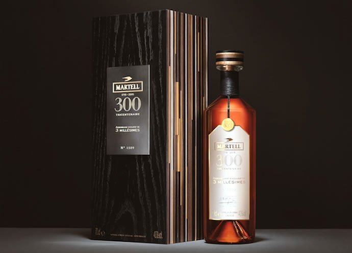 Martell celebrates their 300th anniversary with the limited edition Assemblage Exclusif de 3 Millesimes cognac
