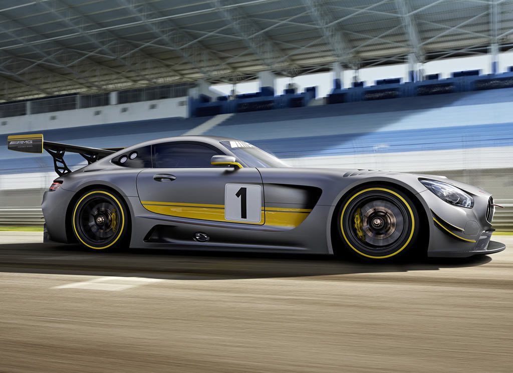 Mercedes Amg Gt3 Unveiled Sticks With The Formula Of Big
