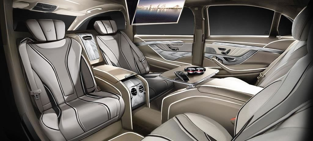 Mercedes S Class Xxl A Super Stretched Limo For Those Who