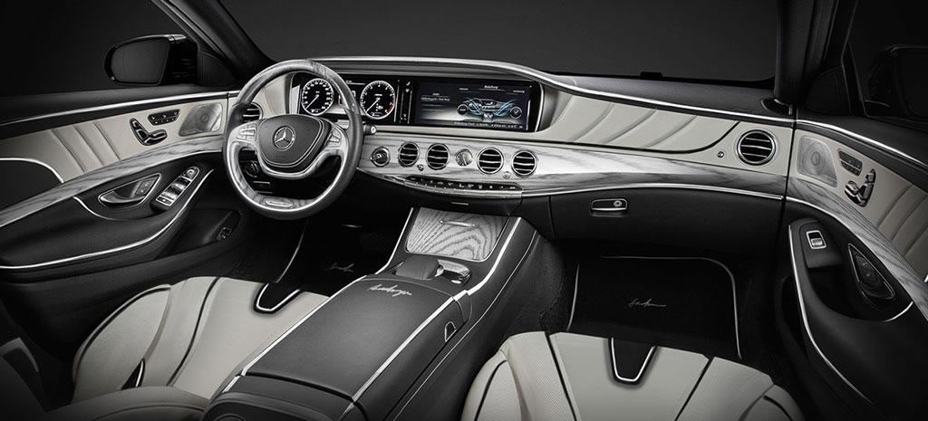 Mercedes S-Class XXL: a super-stretched limo for those who want the