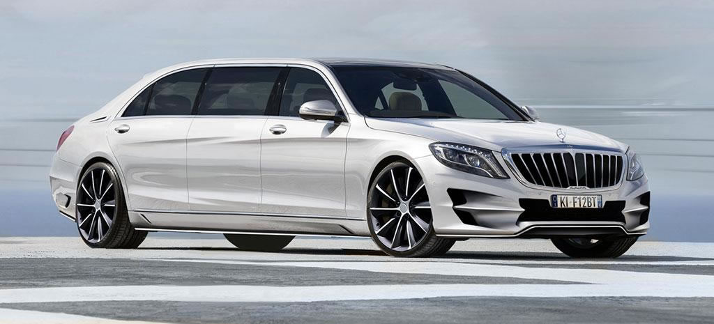 Mercedes S-Class XXL: a super-stretched limo for those who want the Pullman 600 even before it's ...