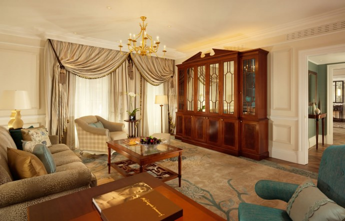 Knightsbridge suite Living Room