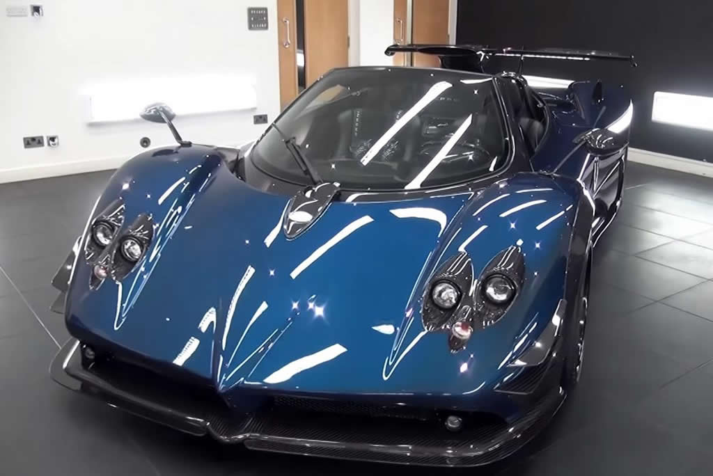 We Have Yet Another One Off Pagani Zonda; Meet The Special Edition Zonda  760 Roadster